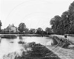 Picture of Berks - Hurst, The Pond c1920s - N1194