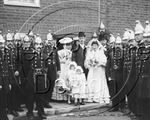 Picture of Essex - Fireman's Wedding, Southend c1900s - N634