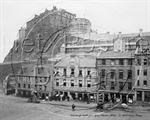Picture of Scotland - Edinburgh Castle c1880s - N573