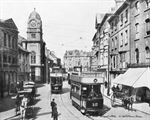 Picture of Wales - Newport, High Street c1900s - N1549