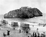 Picture of Wales - Tenby, St Catherine's Rock c1890s - N1785