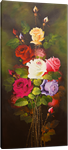 Picture of Flowers - Roses - Multi-coloured Tall Bunch - O021
